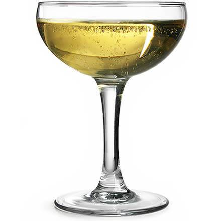 Arcoroc Elegance Champagne Coupes 5.6oz / 160ml (Pack of 12)