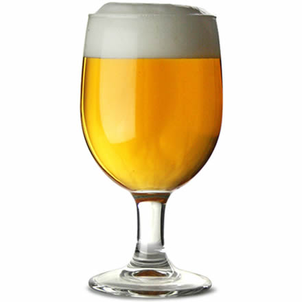 Arcoroc princesa stemmed beer glasses 330ml case of 48 wine glasses glassware - Thick stemmed wine glasses ...