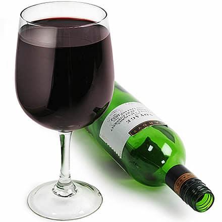 bar@drinkstuff Wine Bottle In A Glass 27.5oz / 780ml (Single) Image