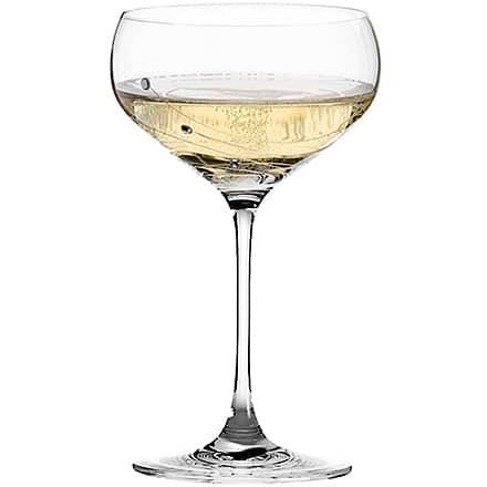 Dartington Crystal Glitz Champagne Saucers 10.6oz / 300ml (Set of 2) Image