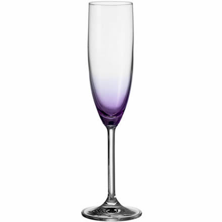 LEONARDO Daily Colours Champagne Flute Lilac 7.4oz / 210ml (Single) Image