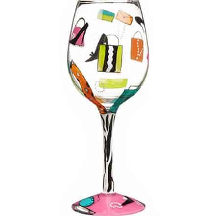 LOLITA Shopaholic Too Wine Glass 15.5oz / 440ml (Single)