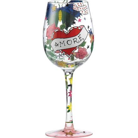 LOLITA Tattoo Wine Glass 15.5oz / 440ml (Single)