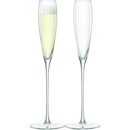 LSA AURELIA Grand Champagne Flutes 5.8oz / 165ml (Set of 2)