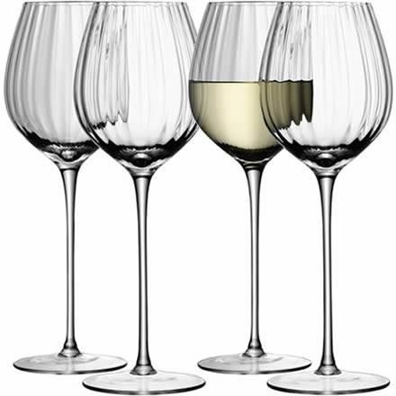 LSA AURELIA White Wine Glasses 15oz / 430ml (Set of 4)