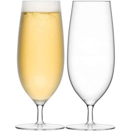 LSA BAR Pilsner Beer Glasses 16oz / 450ml (Set of 2)