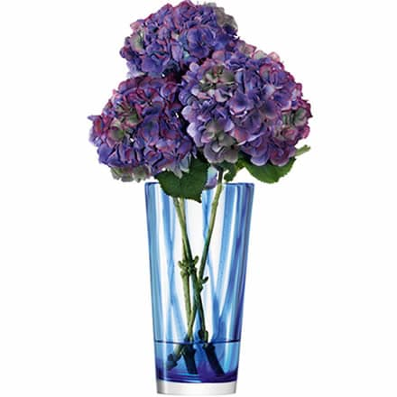 LSA Cirro Vase Cobalt 30cm (Single) Image