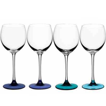 LSA Coro Lagoon Wine Glasses 14oz / 400ml (Pack of 4)