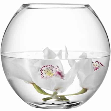 LSA Flower Round Bouquet Vase 22cm (Single) Image