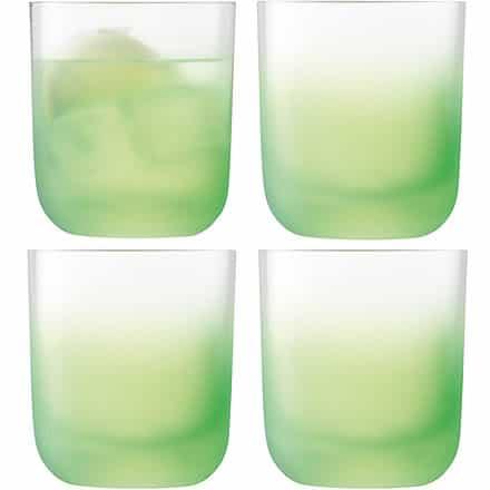 LSA Haze Tumbler Glasses Apple Green 11.4oz / 325ml (Pack of 4) Image