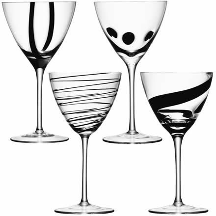 LSA Jazz Wine Goblets 14.8oz / 420ml (Set of 4) Image