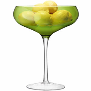 LSA Midi Champagne Saucer, Lime 105.5oz / 3ltr (Case of 2) Image