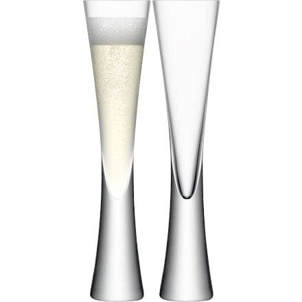 LSA MOYA Champagne Flutes 5.7oz / 170ml (Set of 2)