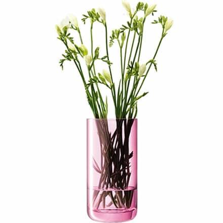 LSA Polka Vase Rose Pink 26cm (Single) Image