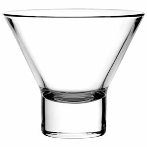 Pasabahce Petra Martini Glasses 8.5oz / 240ml (Pack of 12) Image