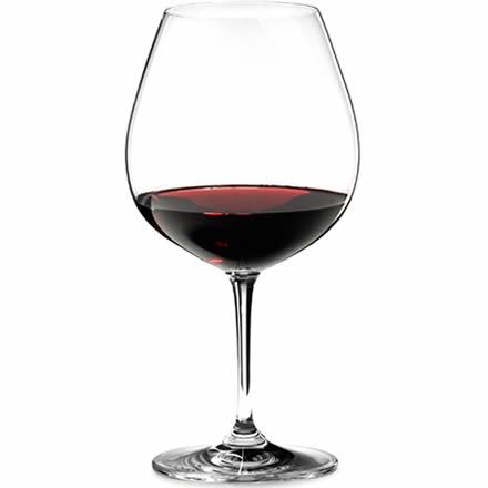 Riedel Vinum Pinot Noir (Burgundy Red) Wine Glasses 6416/07 24.6oz / 700ml (Set of 2)